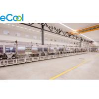 China Size Customized Frozen Food Storage Warehouses , PU Panel Air Cooler Cold Storage wholesale