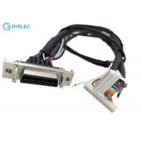 China 180 Degree HPCN Female 26 Pin SCSI Connector To 8 Pin 12 Pin 87439 With M4 Terminal Cable wholesale