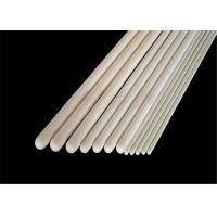 China High Purity Alumina Ceramic Thermocouple Protection Tube With One End Closed wholesale