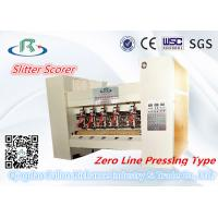 China Zero Line Pressing Type Thin Blade Slitter Scorer For Box Sheet Making wholesale