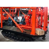 China 200m Portable Mounted Crawler Borehole Drilling Rig For Water Well wholesale
