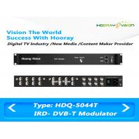 Wholesale 3.7kg Four Frequencies DVB-T CATV QAM Modulator With 128 IP / 8 Tuner Input from china suppliers