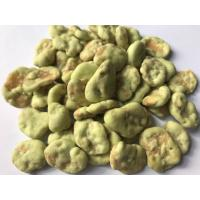 China Spicy Chilli Coated Fava Beans Health Benefits Fried Foods Low Temp Saving wholesale