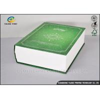 Quality Book Shaped Cosmetic Packaging Boxes UV Coating Printing Face Mask Gift Box for sale
