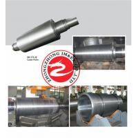 Quality Carbon Steel Caster Roller Forging EN ASTM , Custom Forged Steel Roll for sale