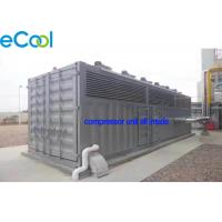 China Ready-to-use CO2 Refrigeration Station/Freezer Condensing Unit/Machine Room Free Cascade Compressor Unit on sale