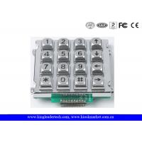 Buy cheap Metal Industrial Numeric Keypad With / Without Backlight Ideal For Control System from wholesalers