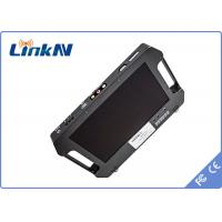 China Black Digital Cofdm Receiver With 10.1 Inch Lcd Screen , 4 Hours Continuously Working wholesale