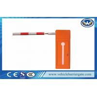 China 100% Heavy Duty Vehicle Barrier Gate Retractable Fence / Retractable Barrier wholesale