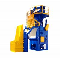 China Non Brittle Parts Crawler Type Shot Blasting Cleaning Machine wholesale
