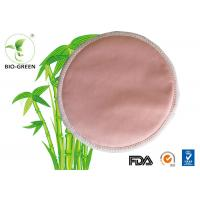 China Pink Washable Bamboo Breast Pads , Grey Round Bamboobies Disposable Nursing Pads wholesale