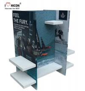 China Retail Store Fixtures Gondola Merchandising Wholesale Retail Display wholesale