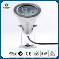 Buy cheap 3W IP68 waterproof Stainless Steel led pool light 12V led Underwater light CE from wholesalers