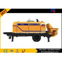 Quality Mini Hydraulic Diesel Concrete Pump With Double Circuit Opening System for sale