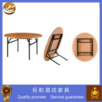 China used round folding banquet table for sale wholesale