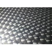 China 1000 Series / 3000 Series Embossed Aluminum Sheet Metal For Electric Industry wholesale
