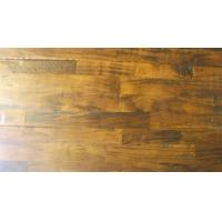 China Acacia Solid 3-strips, hand-scraped,distressed,UV lacquer wholesale
