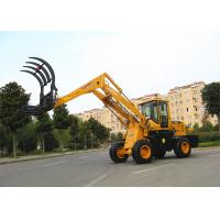 China Liftingheight  5.1m straw / grass loader machine , low noise wholesale