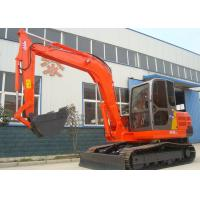 China Low Noise Rock Type Bucket Small Wheeled Excavator With Air Conditioner wholesale