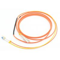 China Duplex 3.0mm Mode Conditioning Patch Cord 3M LSZH Orange For Gigabit Interface Converter on sale