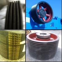 Buy cheap F-1000 Mud Pump Transmission Belt Pulley from wholesalers