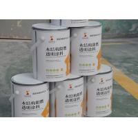 China Transparent Clear Exterior Fire Retardant Paint For Wood Timber Doors 15 Minutes on sale