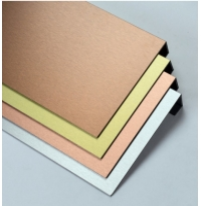 China RoHS Outdoor PVDF Coating Brushed Aluminum Composite Panel wholesale