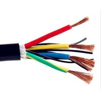 China Multicore Screened Control Drag Chain Cable , Stranded Copper Wire High Stability wholesale