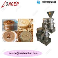 China High Quality Peanut Paste Making Machine for Sale|Tahini Grinder Machine Price wholesale