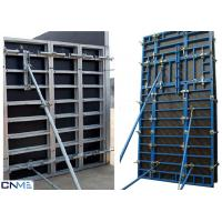 China 120 Steel Frame Wall Formwork System With Perfect Concrete Finish 120mm Thickness wholesale