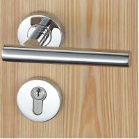 China Satin Stainless Steel Mortise Door Lock Fits For 38 - 50mm Door Thickness wholesale