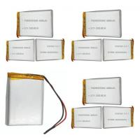 Customized Security Alarm Batteries /  Lithium Polymer Cell With 80mm Length