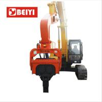 China Excavator Mounted Hydraulic Excavator steel Pile Driver/hydraulic Vibro hammer/spun pile driver wholesale