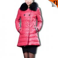 China Women Down Leather Coats wholesale