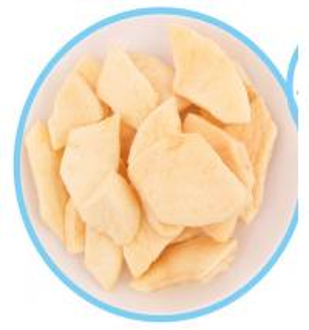 China Delicious Freeze Dried Fruit Apple Pieces Crispy Kids Nutition Health Foods wholesale