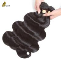 Buy cheap No Chemical Virgin Remy Hair Extensions Unprocessed Virgin Hair Body Wave from wholesalers