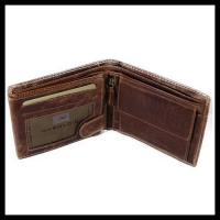 China Wholesale Custom RFID Blocking Genuine Leather Men's Wallet as your require wholesale