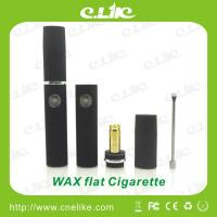 China E-cigarette with Wax Vaporizer Pen, Newest Elips Starter Kits Flat wax cigarette wholesale