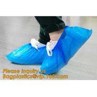 China custom waterproof SMS pp non woven medical surgical use Polypropylene Disposable Shoe Cover non skid anti skid bagease wholesale