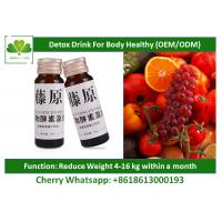 China Weight Management Programs Natural Detox Drinks For Digestive Organ Healthy Care on sale