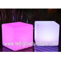 China 16 single color and 4 RGB multi color LED Cube Furniture for table ,  stools , holder wholesale