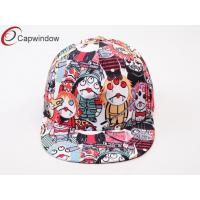 China Halloween Devil Pattern Printing Allover Childrens Baseball Caps wholesale