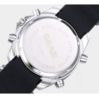 Quality Wholesale Sbao Men Fashion Classical Joker Waterproof Dual Time Outdoor Sport for sale