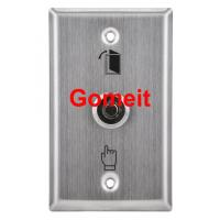 China Stainless Steel Door Exit Button with keys wholesale