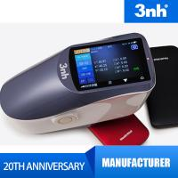 China CIE Lab Hand Held Spectrometer Color Chromameter With Color Matching Software wholesale