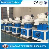 China Capacity 1-1.5t/H Cotton Seed Sawdust Pellet Making Machine With CE Approval wholesale