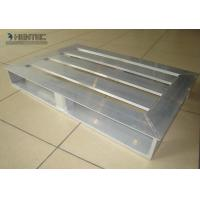 China Anodized Light Weight Slatted Aluminum Pallets Used For Ware House wholesale