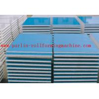 China Automatic EPS and Rock Wool Sandwich Panel Roll Forming Machine High Speed and Durable wholesale