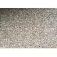 China Grey or Coffee Warm Soft Woven Wool Fabric For mens coat , plain style wholesale