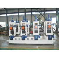 China Square pipe roll forming machine used Automatic steel ERW pipe mill line machine to make square tube wholesale